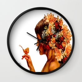Love Me For Me Wall Clock