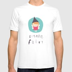 Little Fairy Mens Fitted Tee White SMALL