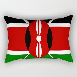 Flag: Kenya Rectangular Pillow