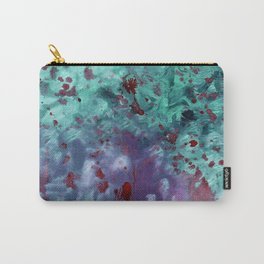 Blue Tie-Dye Carry-All Pouch