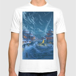 Winter Night  XL T-shirt