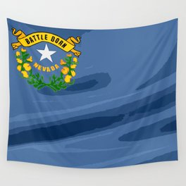 Nevada Fancy Flag Wall Tapestry