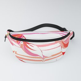 Pink fish Fanny Pack
