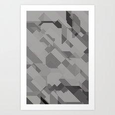 Graphites Art Print