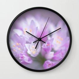 Dreamy Flower I Wall Clock