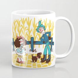 When Dorothy Met The Scarecrow Coffee Mug