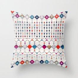 (N9) Modern Traditional Moroccan Artwork. Throw Pillow