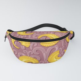 Aries Pattern Fanny Pack