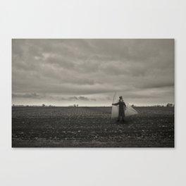 I'll sail along this sky Canvas Print