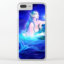 Siren Clear iPhone Case