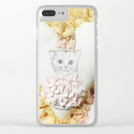 Princess Kitty Clear iPhone Case
