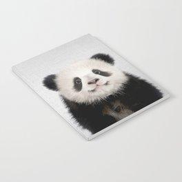Panda Bear - Colorful Notebook
