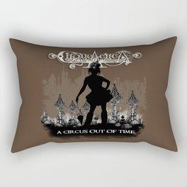 Cirque A Circa Victorian Steam Circus Sideshow Rectangular Pillow