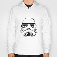 stormtrooper Hoodies featuring stormtrooper by Vreckovka