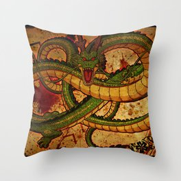 Dragon ball Throw Pillow