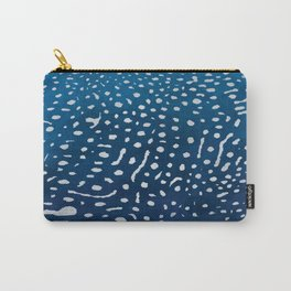 Whale shark skin. Carry-All Pouch