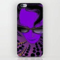 Wanda Mauve iPhone & iPod Skin