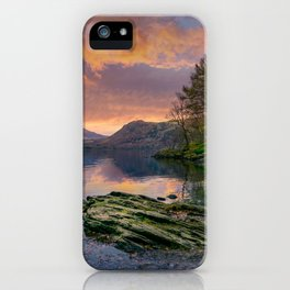 Fall on the Rocks iPhone Case