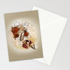 Gold Koi Stationery Cards