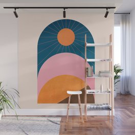 Abstraction_Sunshine_Minimalism_001 Wall Mural