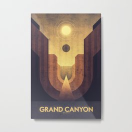 Earth - Grand Canyon Metal Print