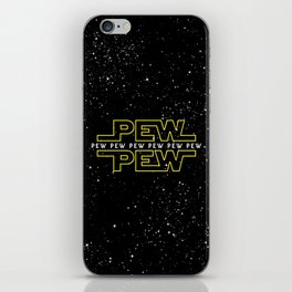 Pew Pew v2 iPhone Skin