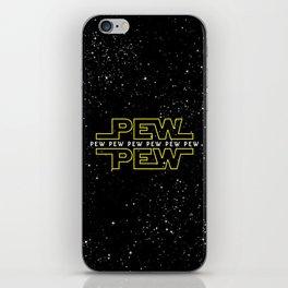 Pew Pew v2 iPhone Skin