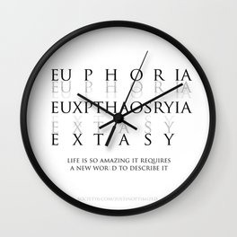 Euxpthaosryia 01 Wall Clock