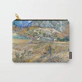 Landscape at Saint-Rémy by Vincent van Gogh Carry-All Pouch
