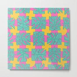 Party palms Metal Print