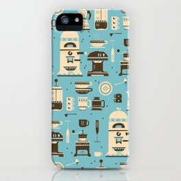 Coffee Paraphernalia   iPhone Case