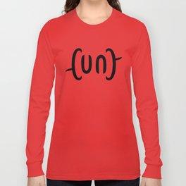 Ambigram Cunt Long Sleeve T-shirt