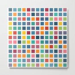 City Blocks - Subtle Rainbow #453 Metal Print