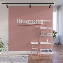Bernie Sanders Bearnaise and Rose All Day Feel the Bern Wall Mural