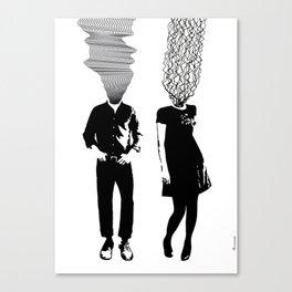 Neuro V3V4 Canvas Print