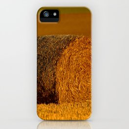 A Roll in the Hay iPhone Case