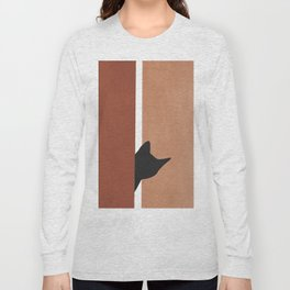 Peeking In Long Sleeve T-shirt