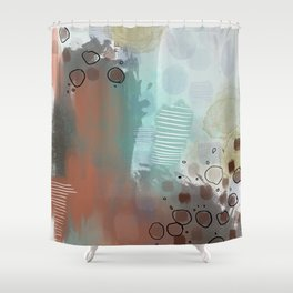 Rose Rock Shower Curtain