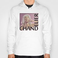 chandelier Hoodies featuring Chandelier (sketch) by rnlaing