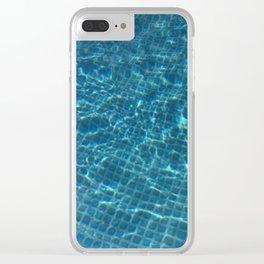 splish splash Clear iPhone Case