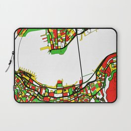 Streets of Hong Kong - Port Victoria Laptop Sleeve