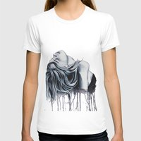 cara delevingne T-shirts featuring Cara Delevingne by Asquared2Art