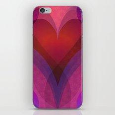 Coeur iPhone & iPod Skin