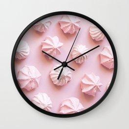 Pink Dessert Wall Clock