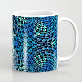Retro Psychedelic Patchwork Geometry Coffee Mug
