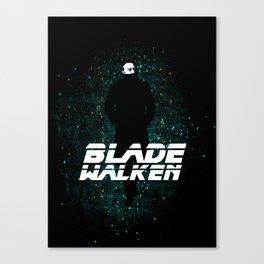 Blade-Walken Canvas Print