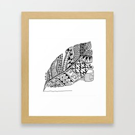 Writer Love Framed Art Print