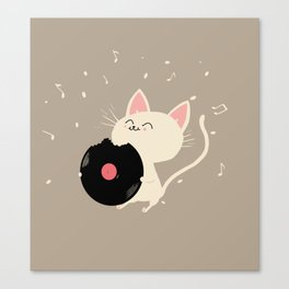 I can't get nooo catisfaction Canvas Print