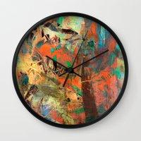 warcraft Wall Clocks featuring Huáscar and Atahualpa by Fernando Vieira