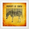 The encoded zebra by ganech